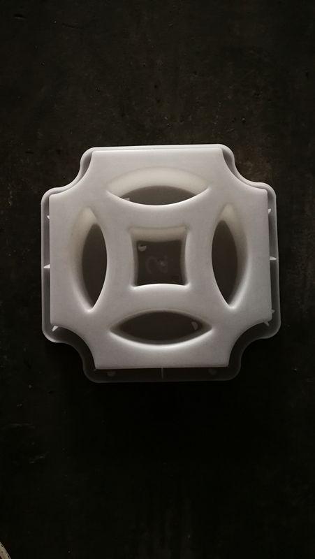 花窗塑料模型效果图-墙头花砖模具定制