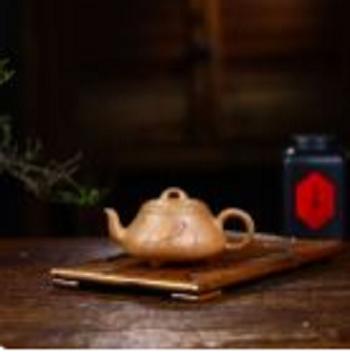 亿人茗器《汉棠石瓢》紫砂壶