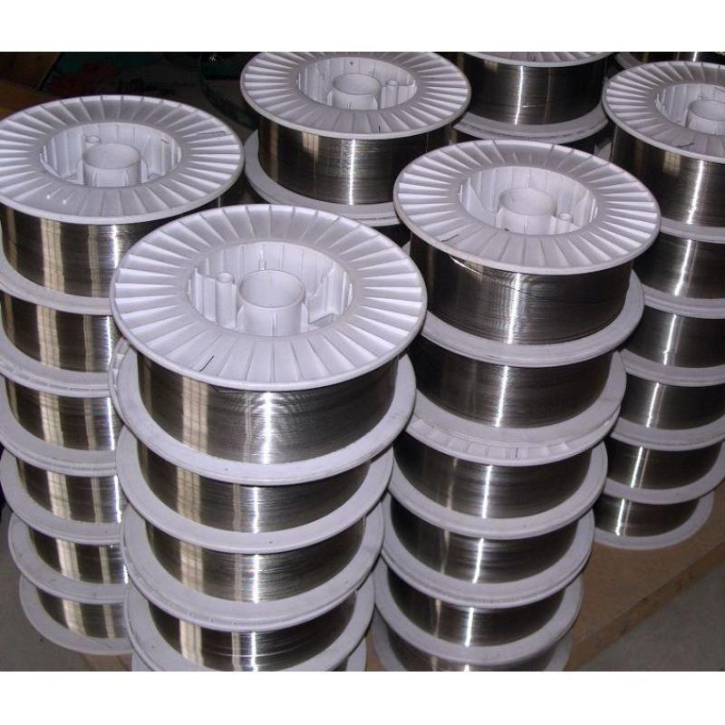 YD650高鉻型耐磨藥芯焊絲鋼廠布料溜槽堆焊焊絲