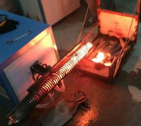 中频汽车配件锻造加热电炉